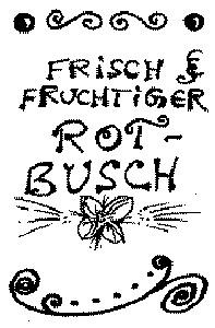 frisch & fruchtiger Rotbusch